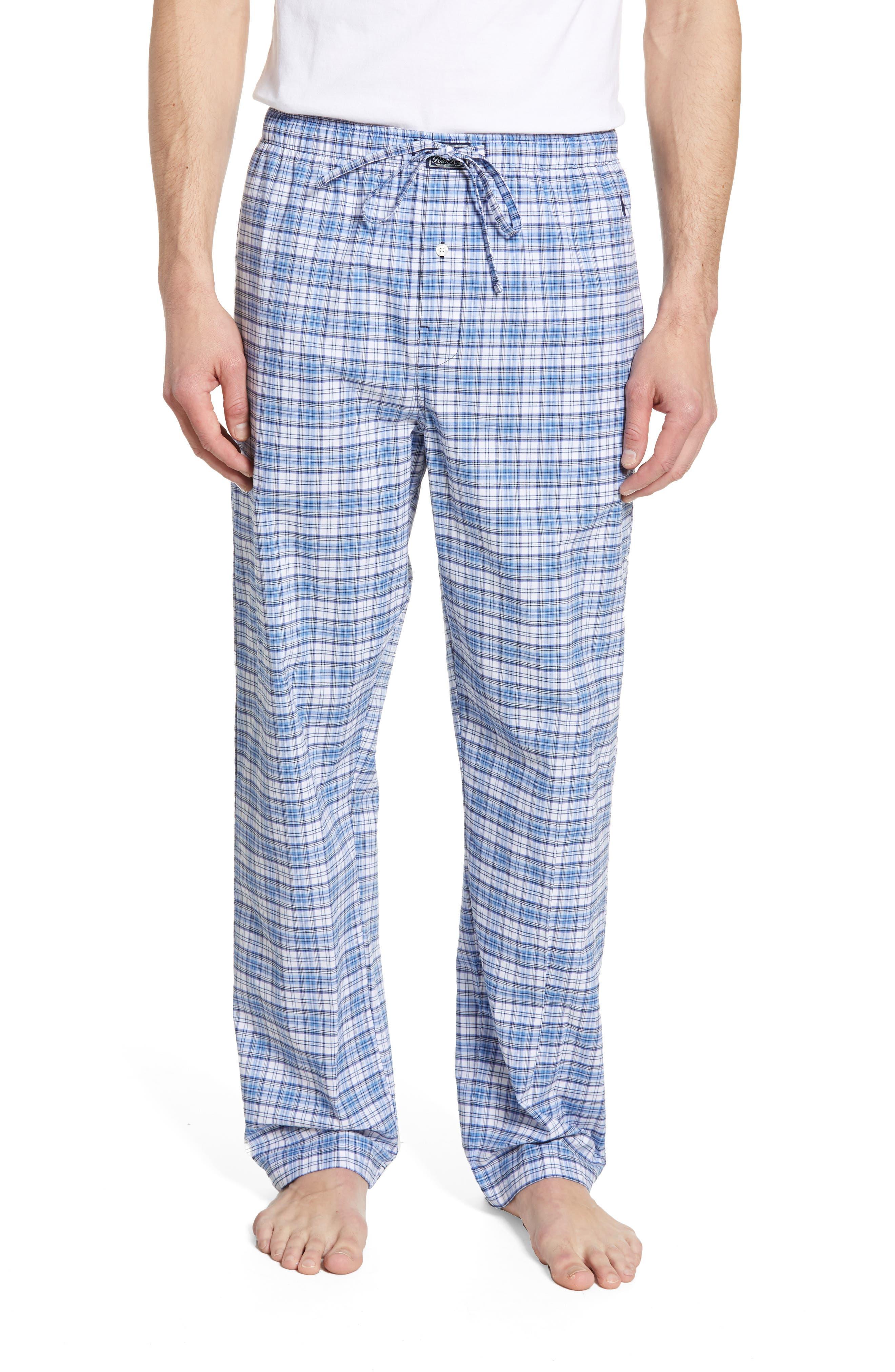 Polo Ralph Lauren Classic Stretch Cotton Pajama Pants, Blue