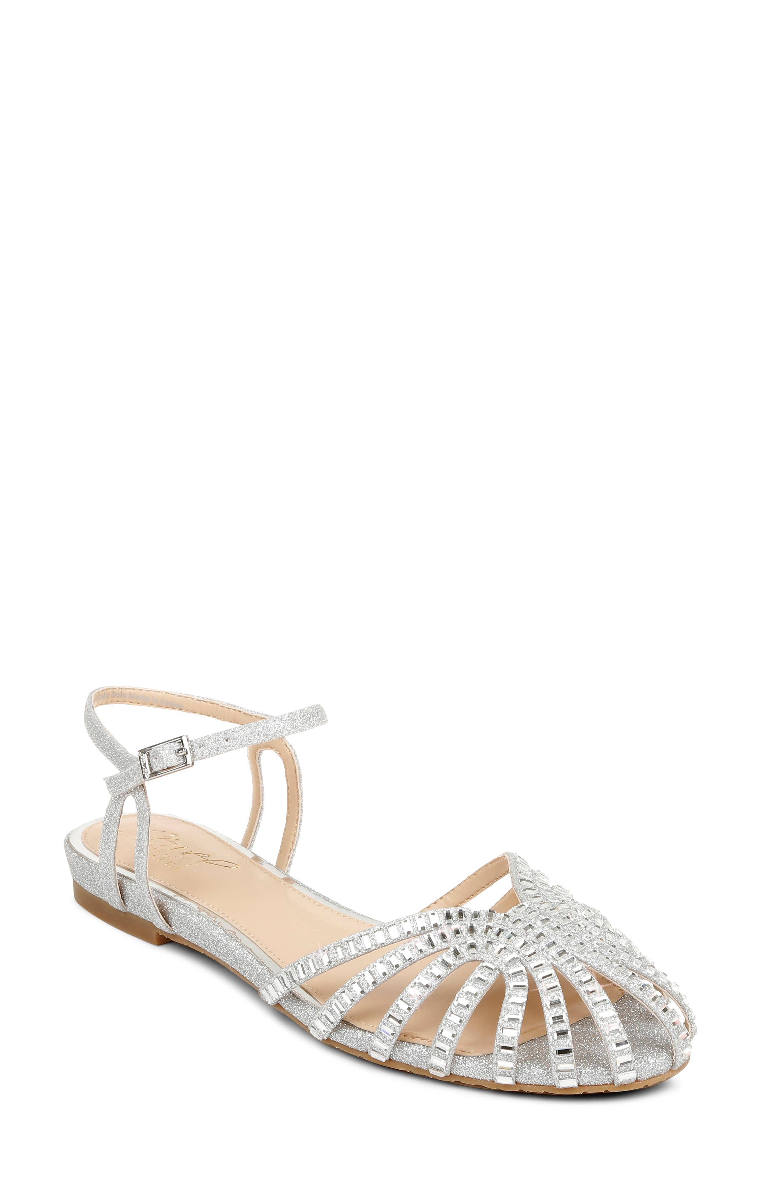 Perla Ankle Strap Flat