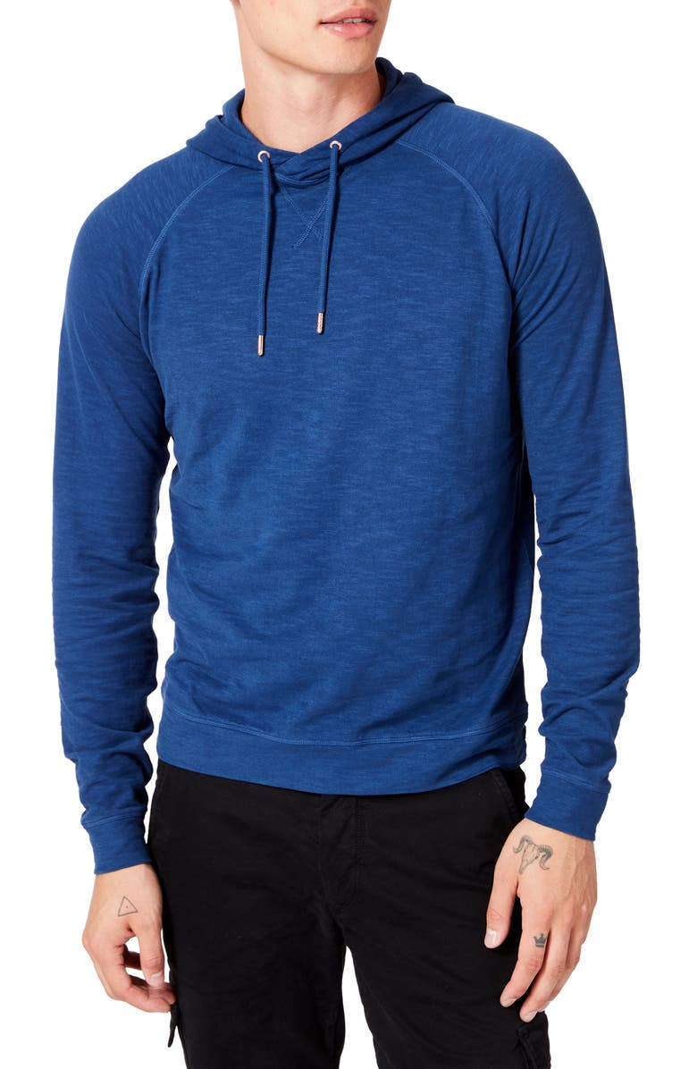 GOOD MAN BRAND Legend Slim Fit Pullover Hoodie, Main, color, BLUE