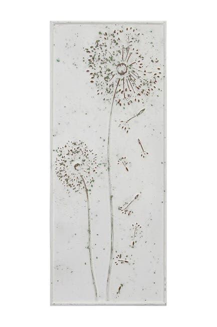 Image of Stratton Home Dandelion Metal Panel Wall Decor