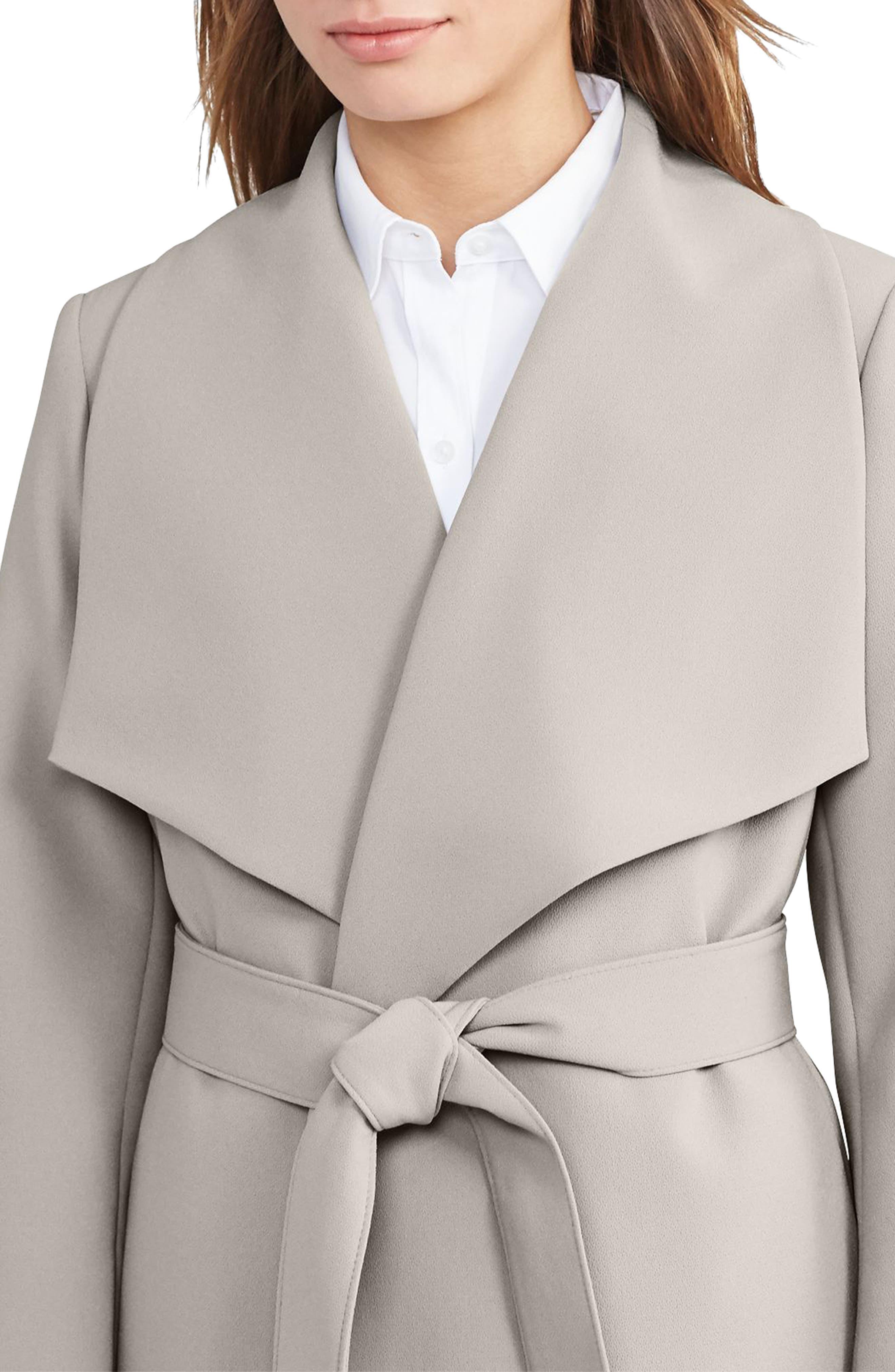 ,                             Belted Drape Front Coat,                             Alternate thumbnail 23, color,                             279