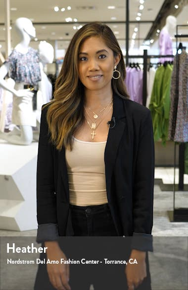 Jolie Scallop Lace Sheath Dress, sales video thumbnail