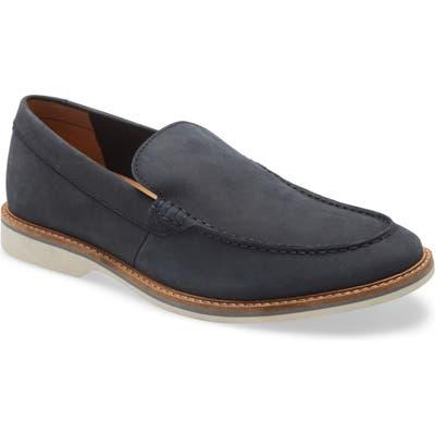 Clarks Atticus Edge Venetian Loafer- Blue