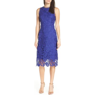 Sam Edelman Lace Midi Dress, Blue