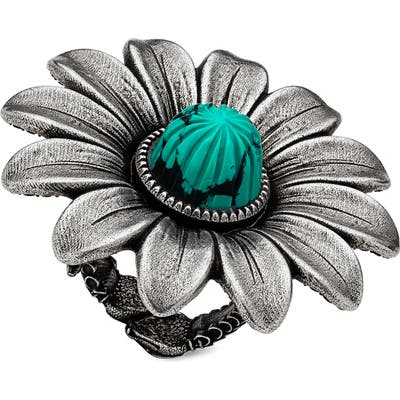 Gucci Gg Marmont Flower Ring