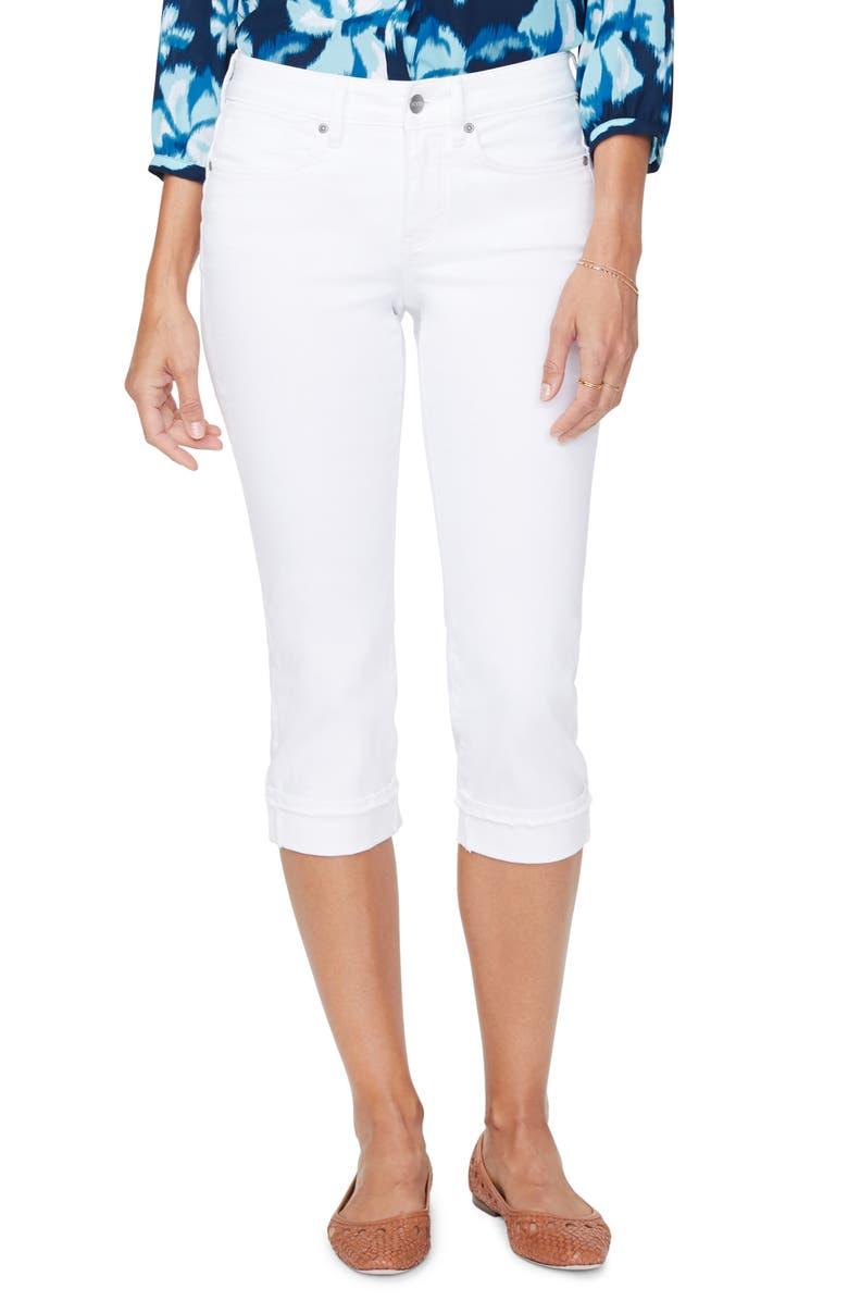 NYDJ Marilyn Crop Cuff Jeans, Main, color, 103