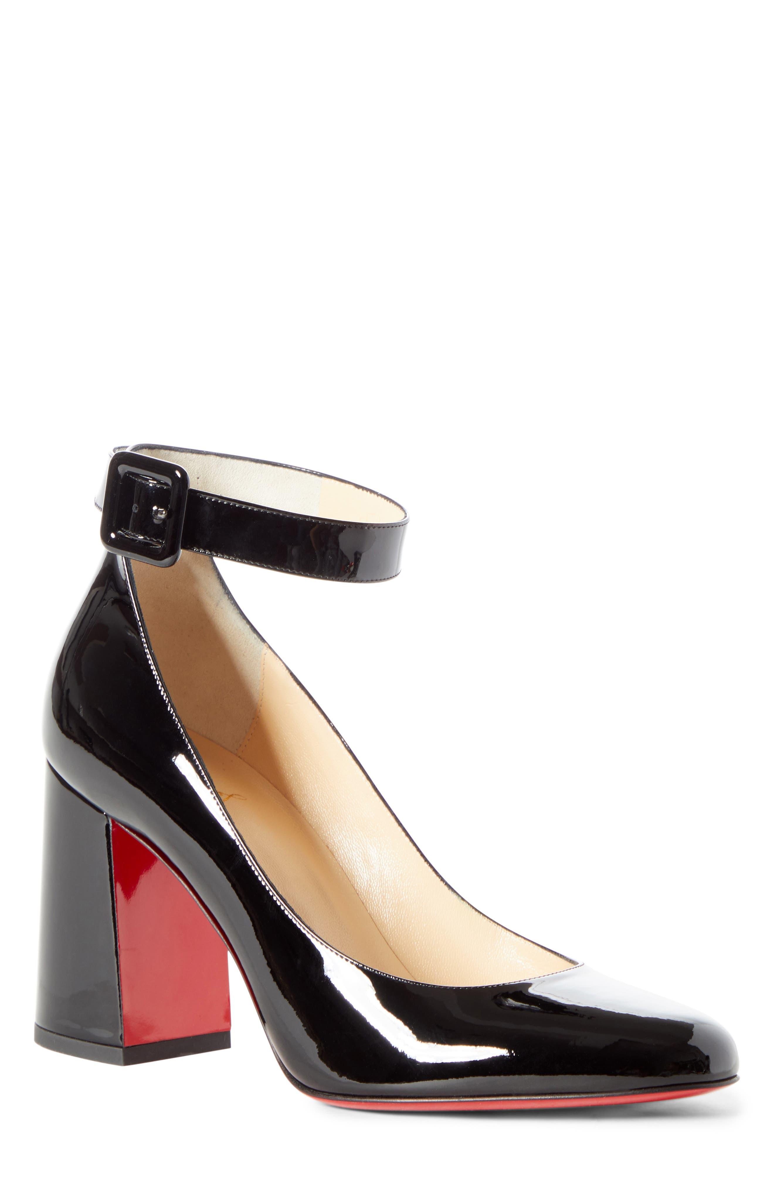 Christian Louboutin Soval Ankle Strap Pump (Women)