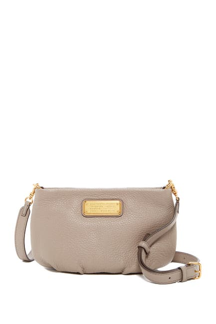 Image of Marc by Marc Jacobs Percy Leather Crossbody Bag