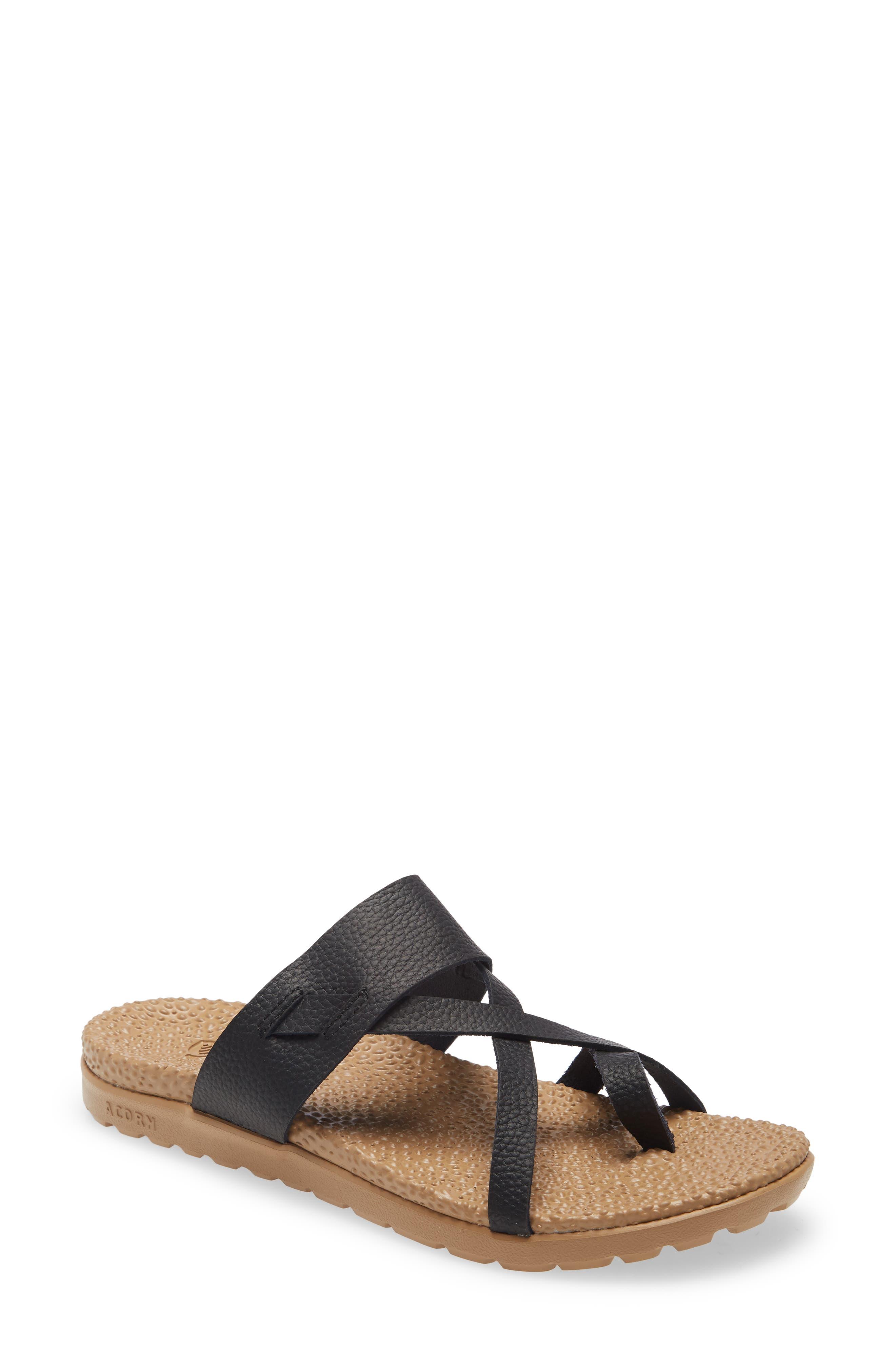 Riley Leather Sandal