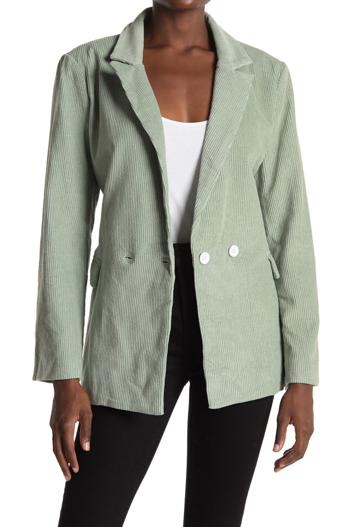 Image of CHARLIE HOLIDAY Bay Double Breasted Blazer