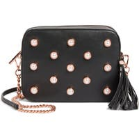 Deals on Ted Baker London Alessia Imitation Pearl Embellished Crossbody