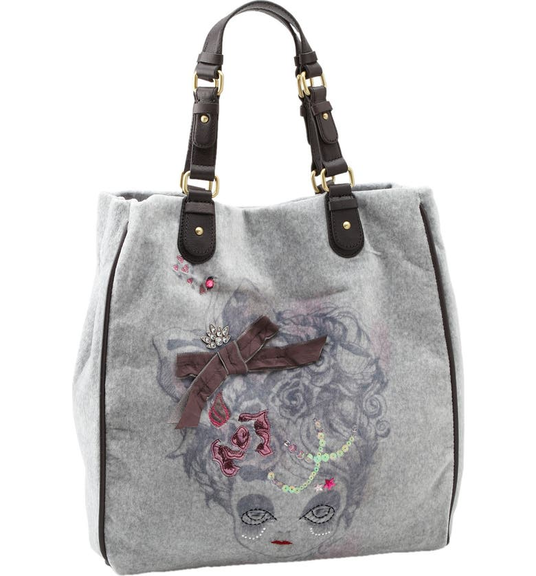 Juicy Couture Doll Face Vertical Tote