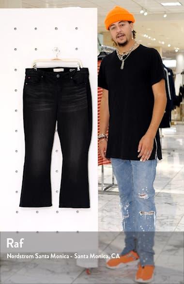 High Waist Flare Leg Jeans, sales video thumbnail