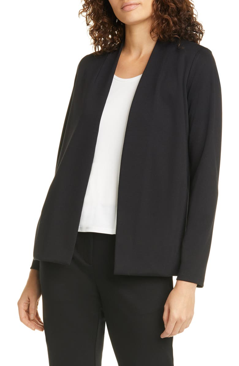 EILEEN FISHER Cardigan, Main, color, BLACK