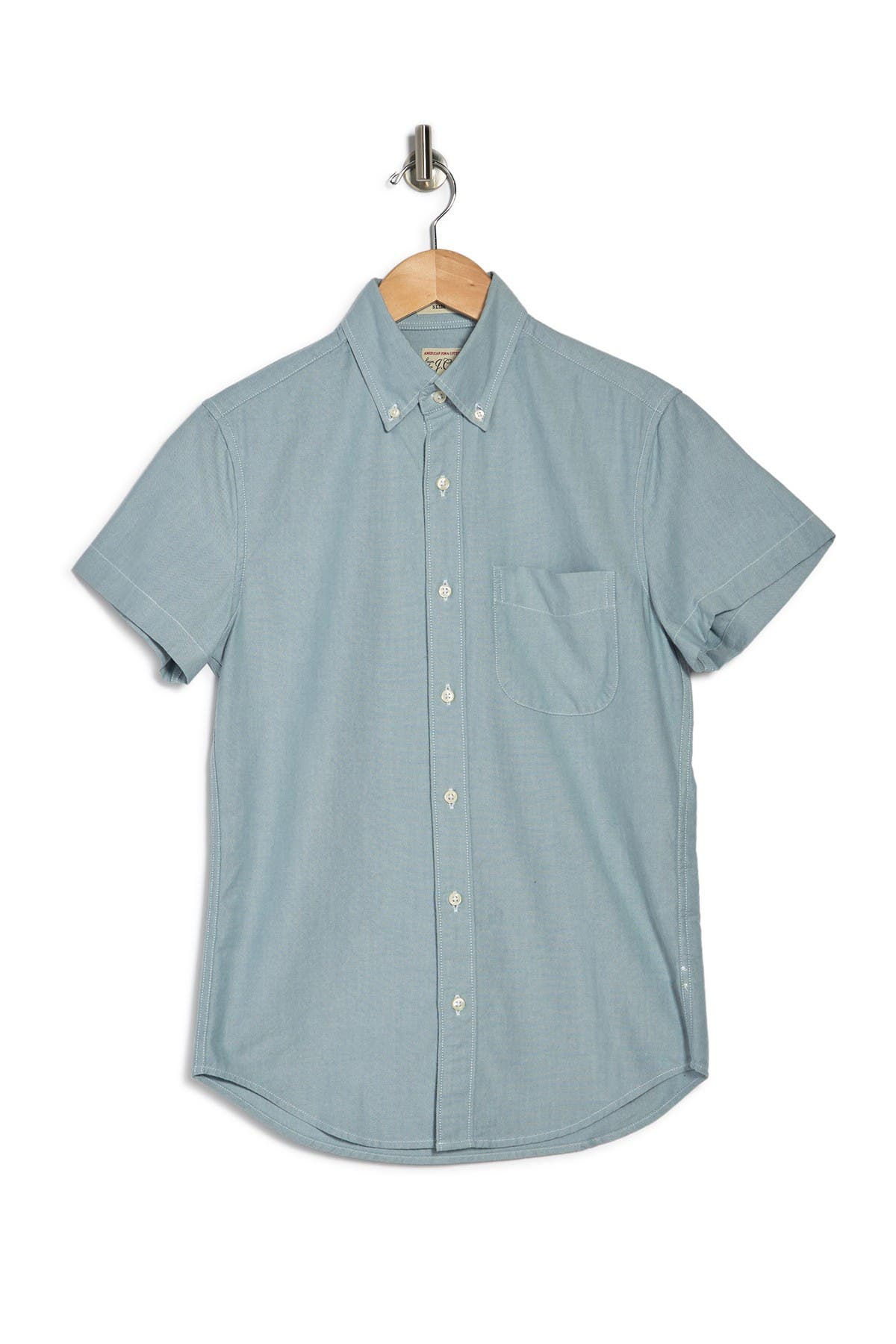 J. Crew Oxford Regular Fit Shirt In Seaside