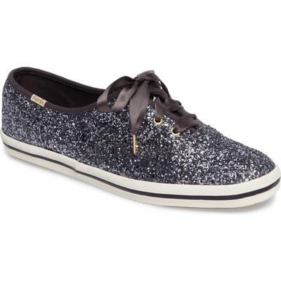 Keds X Kate Spade New York Glitter Sneaker- Metallic