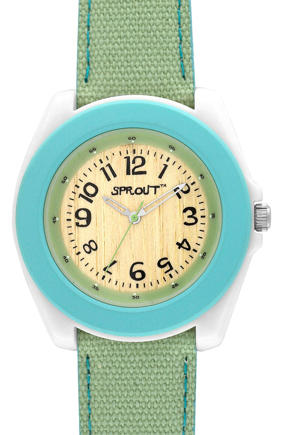 ,                             Organic Round Case Watch,                             Main thumbnail 3, color,                             301