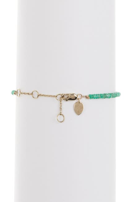Image of Meira T 14K Yellow Gold Emerald Bracelet