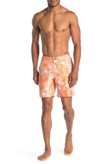 Image of Onia Calder Tropical Print Swim Trunks