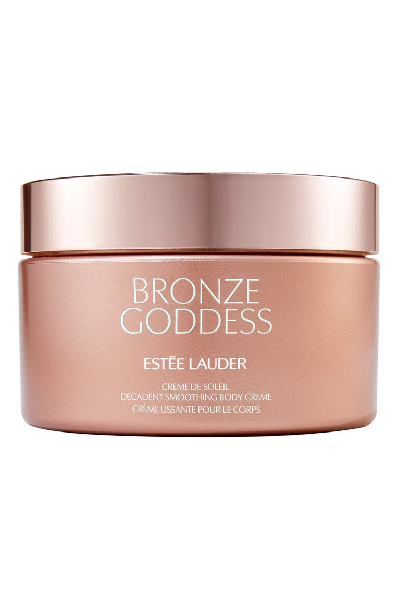 ESTÉE LAUDER Bronze Goddess Crème de Soleil Decadent Smoothing Body Crème, Main, color, NO COLOR