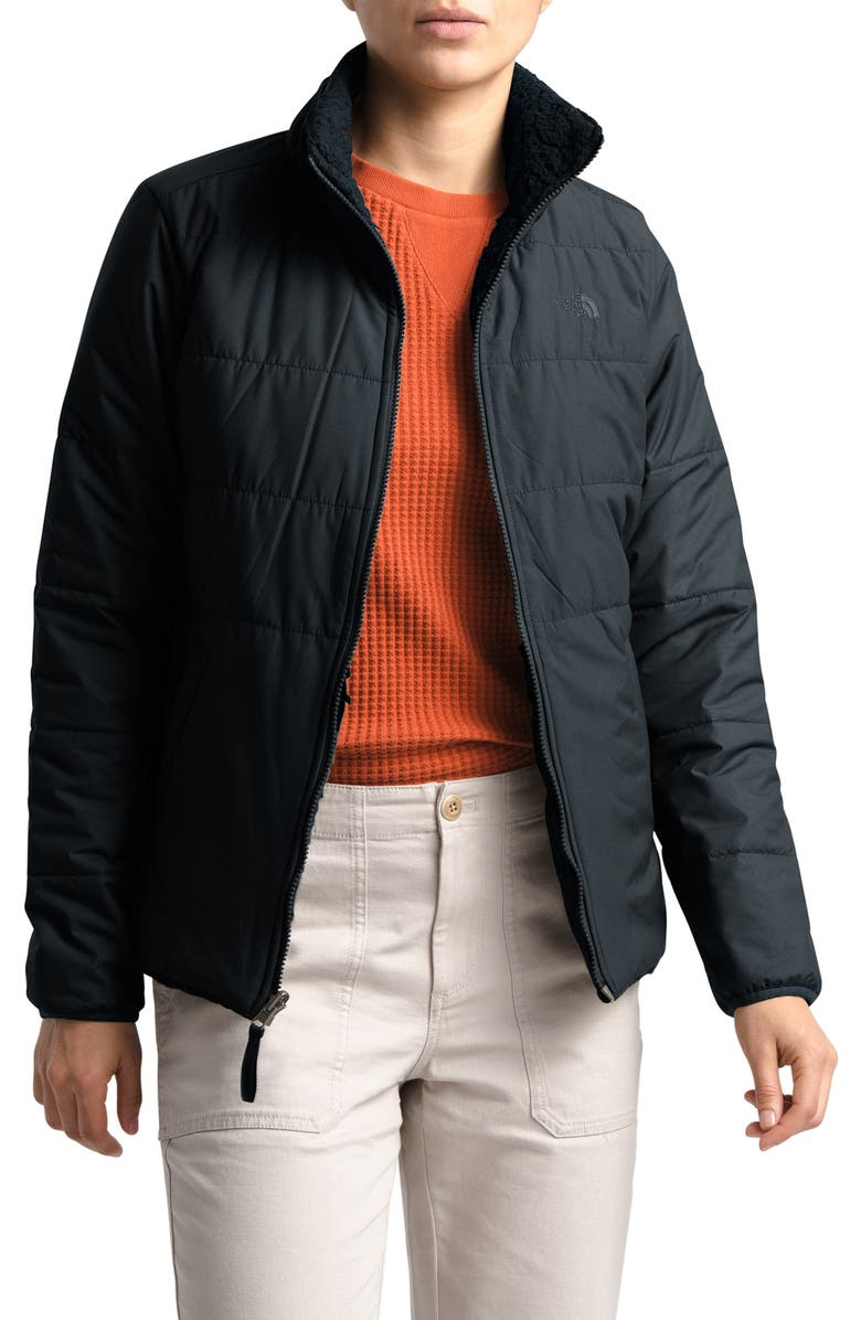 THE NORTH FACE Merriewood Reversible Jacket, Main, color, TNF BLACK