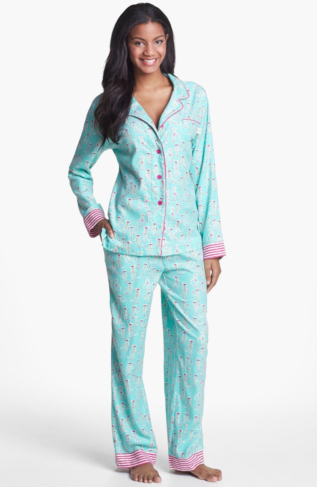,                             Flannel Pajamas,                             Main thumbnail 20, color,                             301