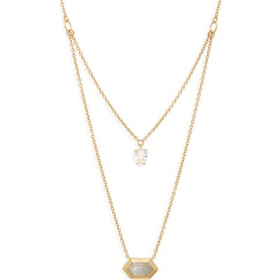 Nadri Venice Layered Pendant Necklace