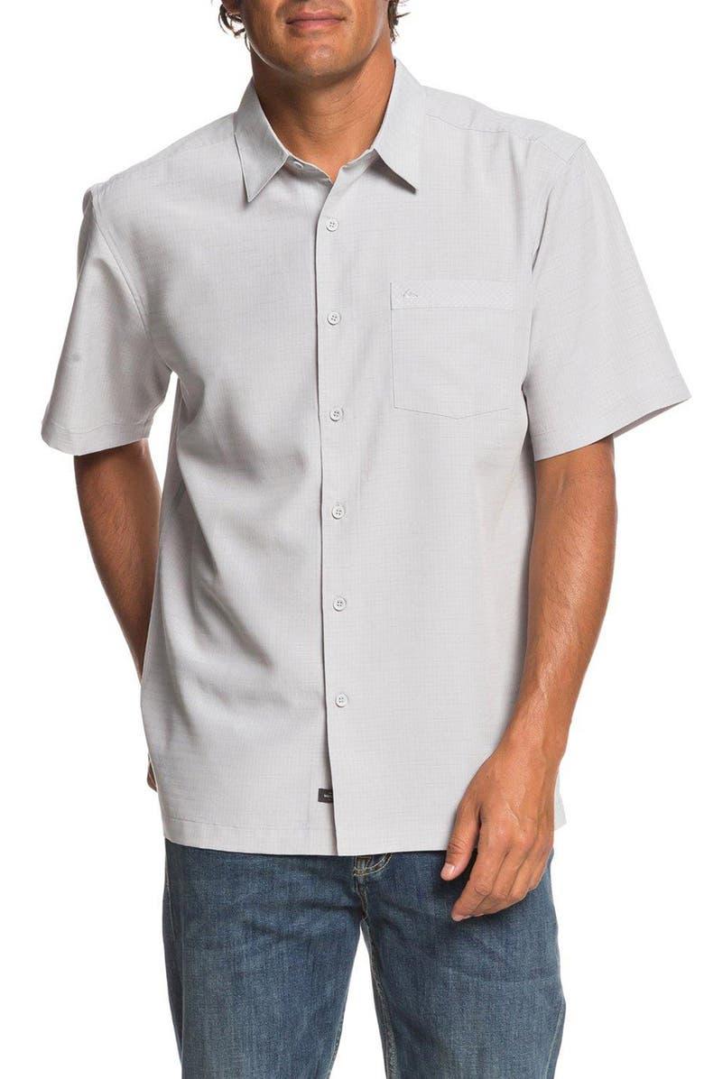 QUIKSILVER WATERMAN COLLECTION Centinela Regular Fit Sport Shirt, Main, color, 033