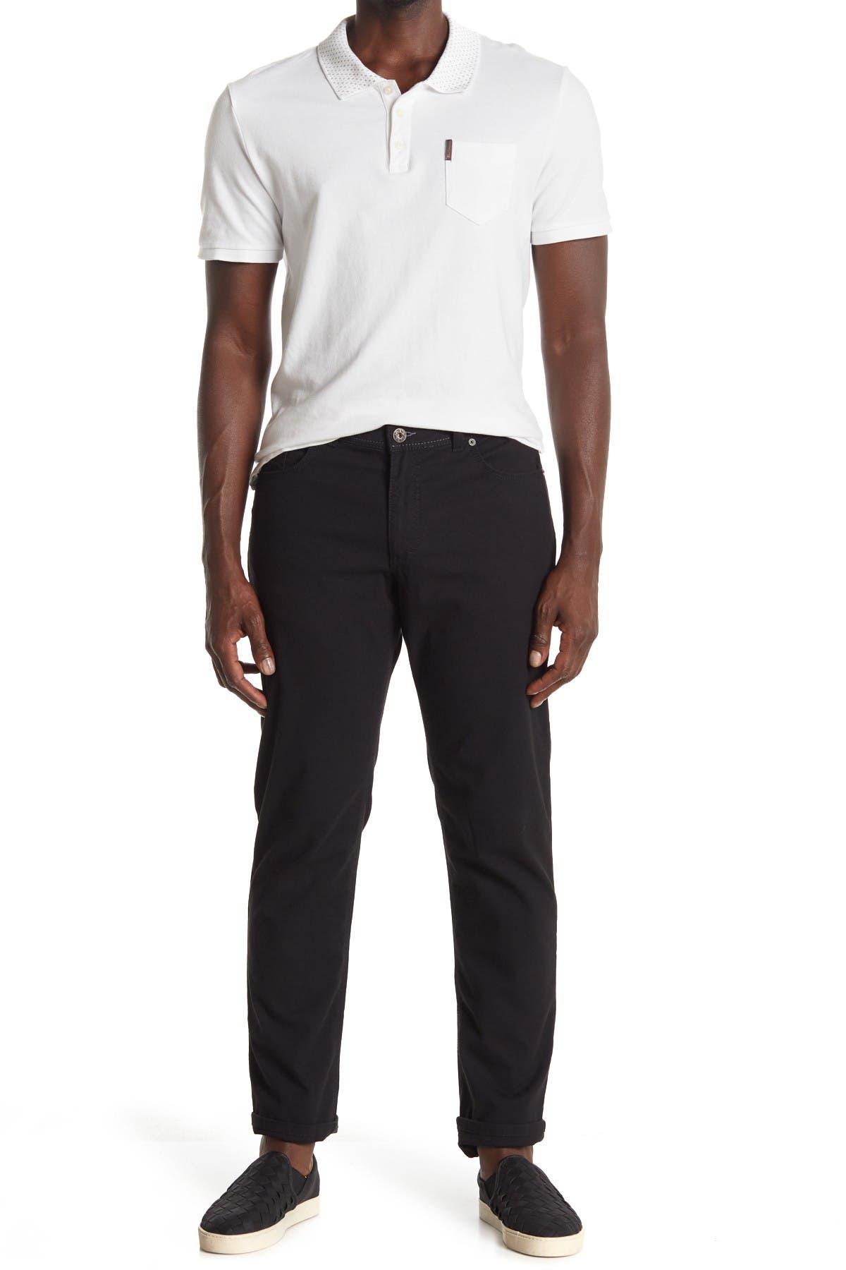 "Image of Brax Cooper Fancy Regular Fit Pants - 34"" Inseam"