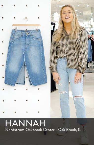 Georgia Denim Skirt, sales video thumbnail