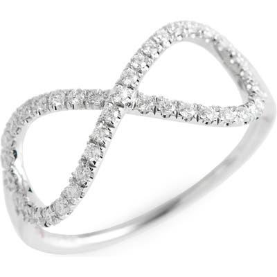Roberto Coin Diamond Infinity Ring (Nordstrom Exclusive)