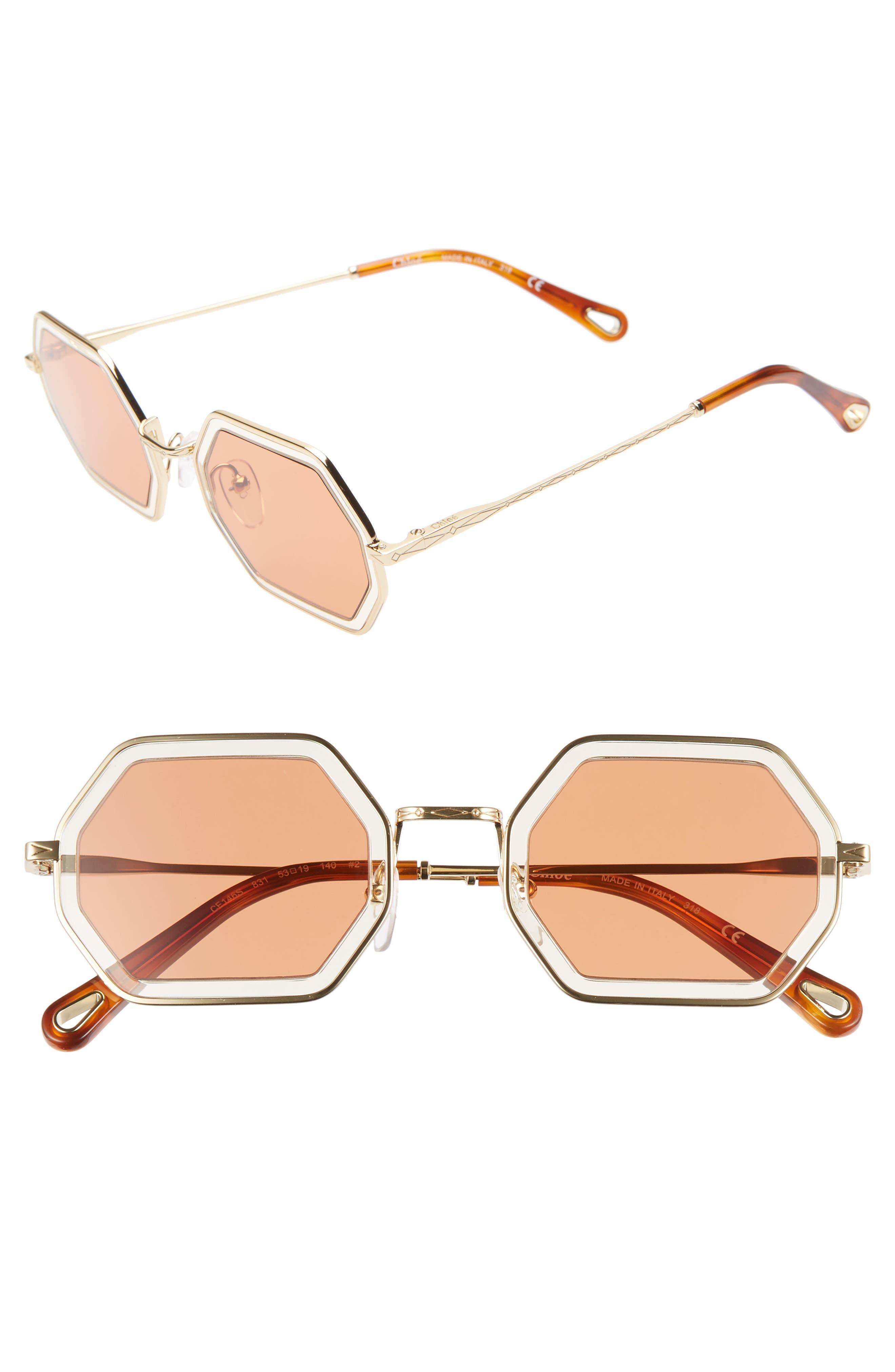 Chloe Tally 5m Octagon Sunglasses -