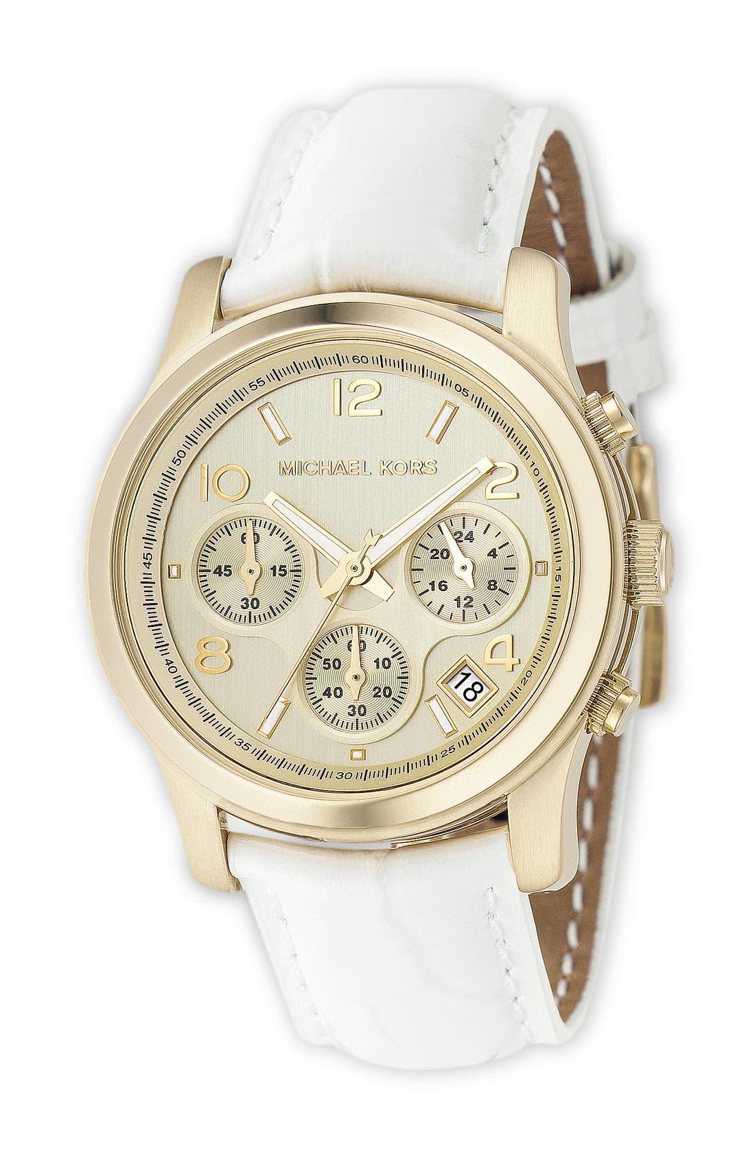 ,                             'Runway' Chronograph Watch, 39mm,                             Main thumbnail 28, color,                             100