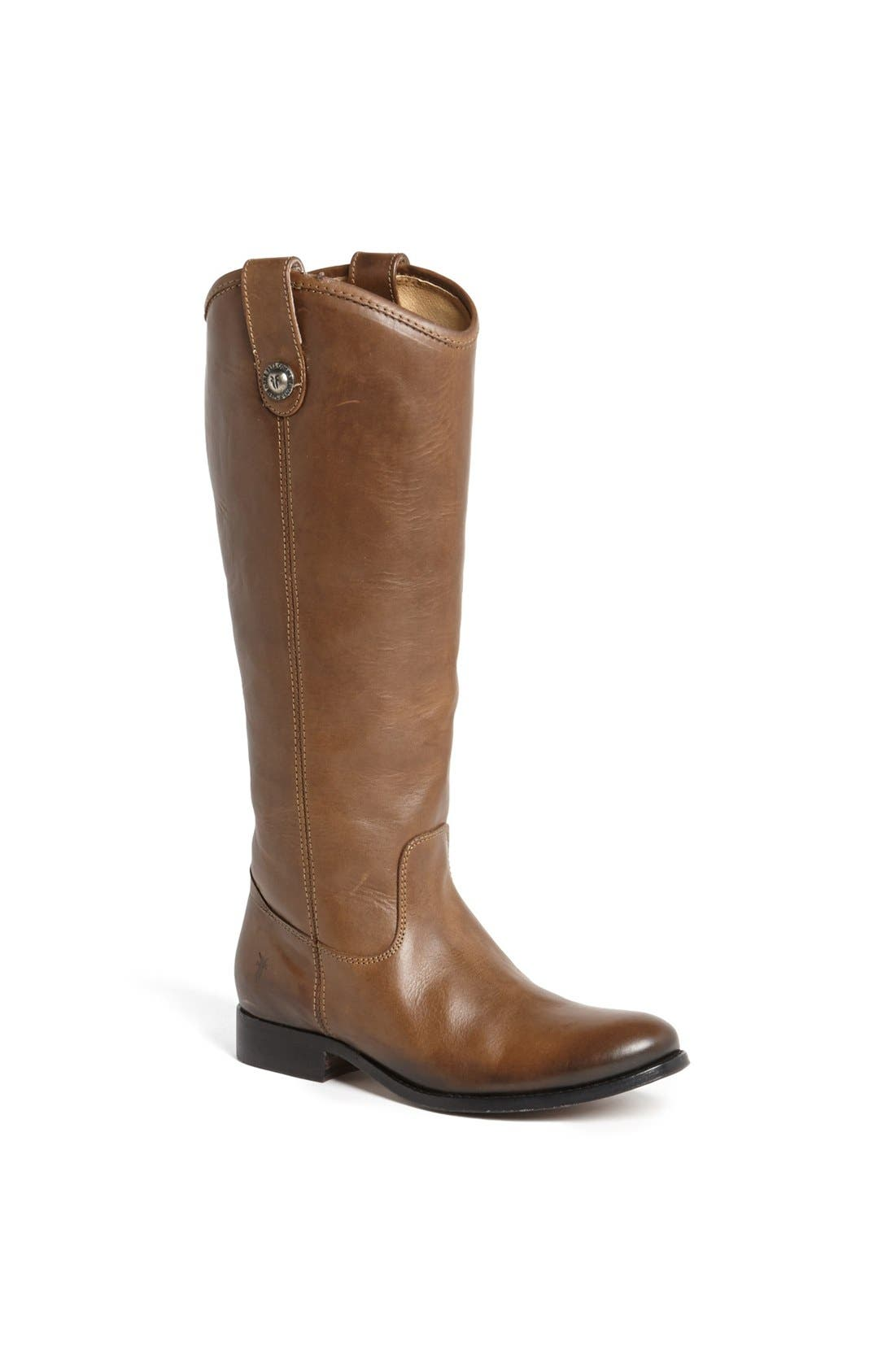 ,                             'Melissa Button' Leather Riding Boot,                             Main thumbnail 143, color,                             278