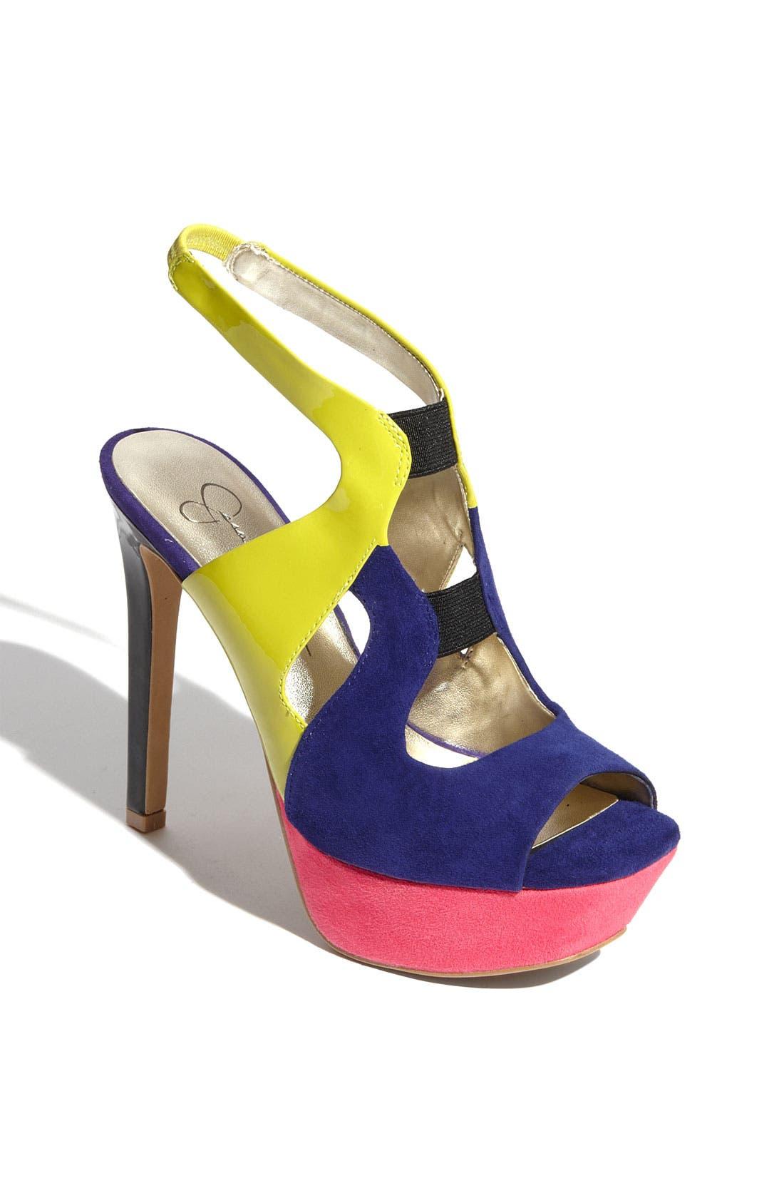 ,                             'Bendie' Platform Sandal,                             Main thumbnail 13, color,                             501