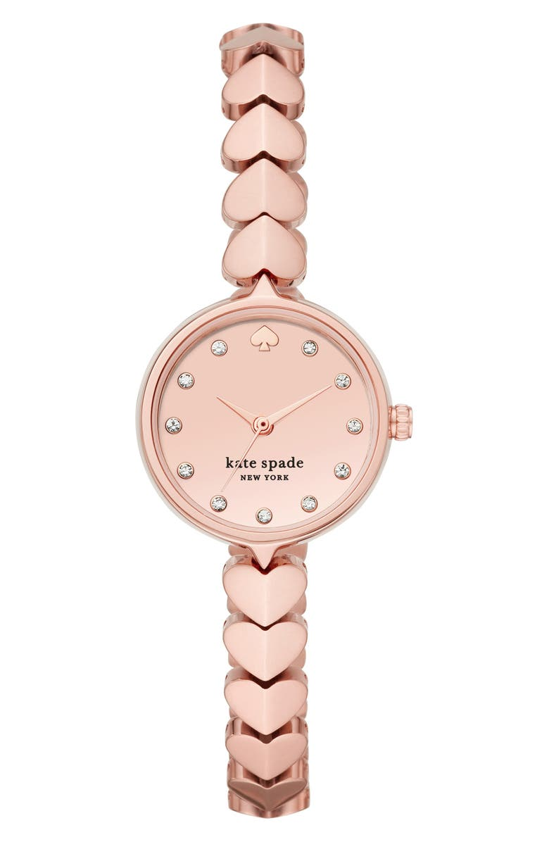 KATE SPADE NEW YORK hollis bracelet watch, 24mm, Main, color, 710