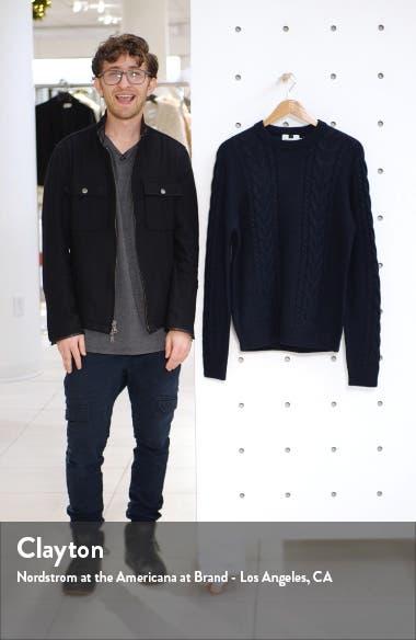 Crewneck Cable Knit Sweater, sales video thumbnail