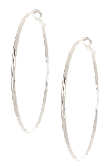 Image of 14th & Union Large Textured 57mm Hoop Earrings