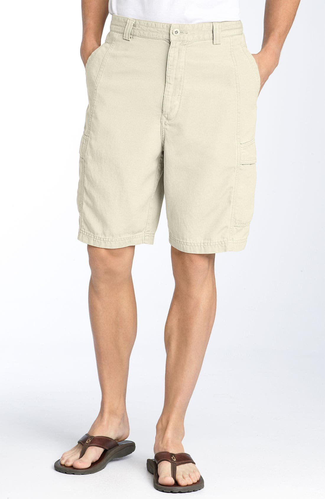 ,                             'Key Grip' Relaxed Fit Cargo Shorts,                             Main thumbnail 42, color,                             SPY