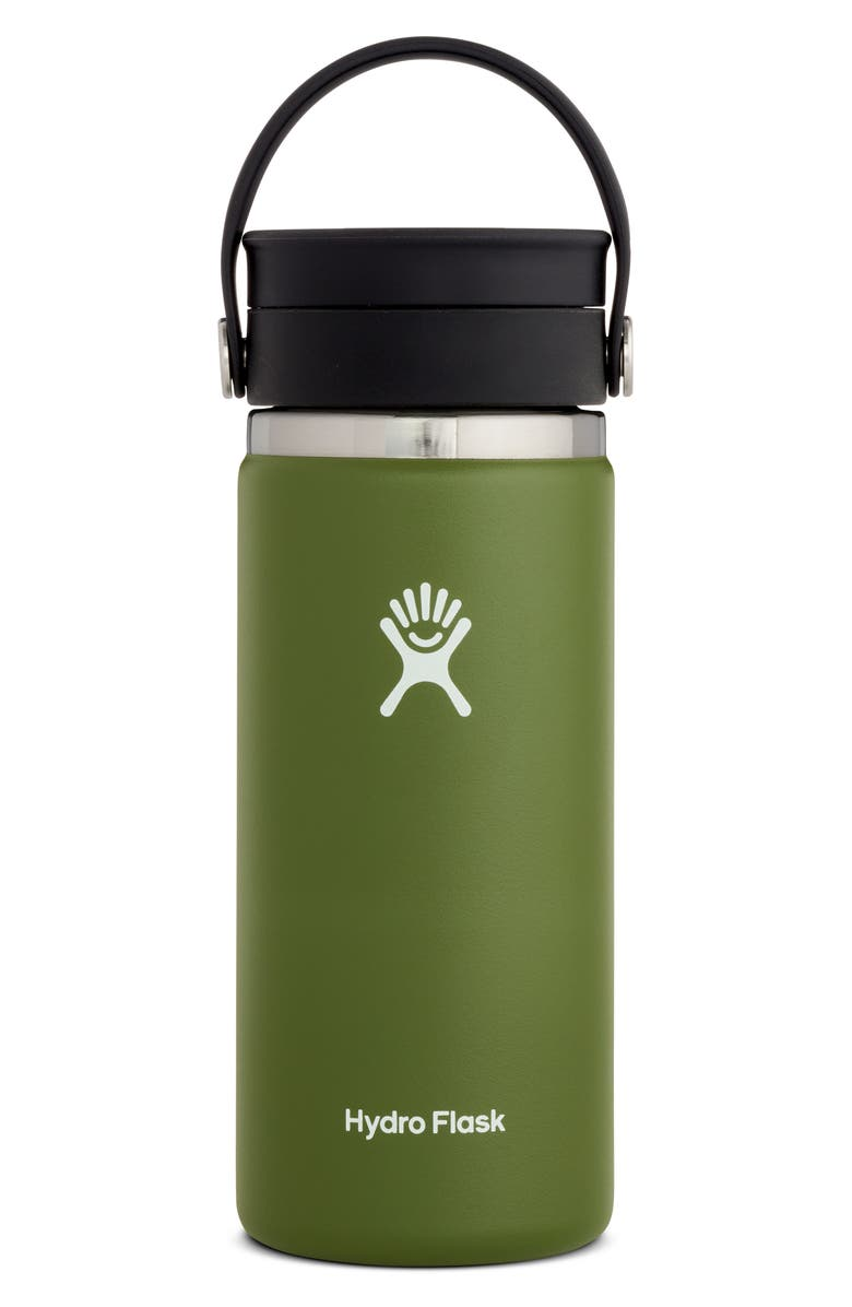 HYDRO FLASK 16-Ounce Coffee Flask with Flex Sip<sup>™</sup> Lid, Main, color, OLIVE