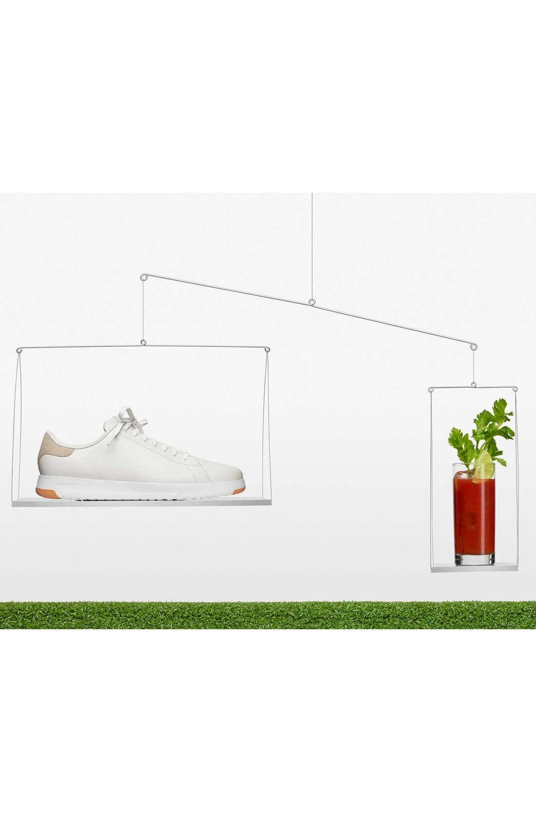 ,                             GrandPro Tennis Sneaker,                             Alternate thumbnail 10, color,                             BLACK/ BRITISH TAN