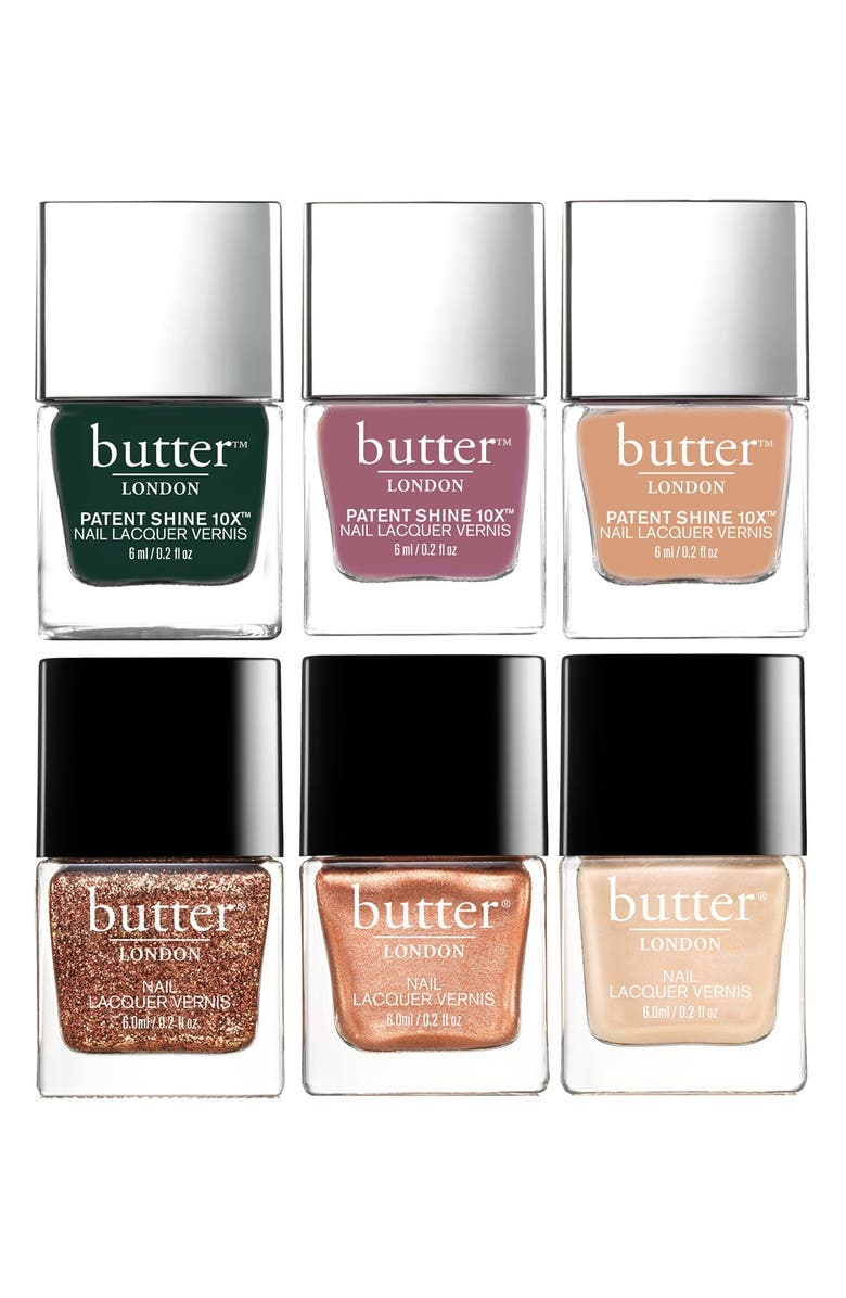 BUTTER LONDON Shoes of Prey for butter LONDON Nail Lacquer Set, Main, color, 000