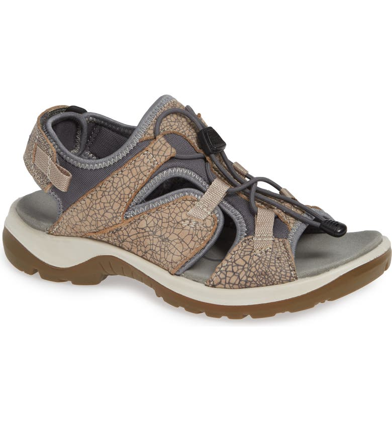 ECCO Off-Road Sandal, Main, color, NUDE LEATHER
