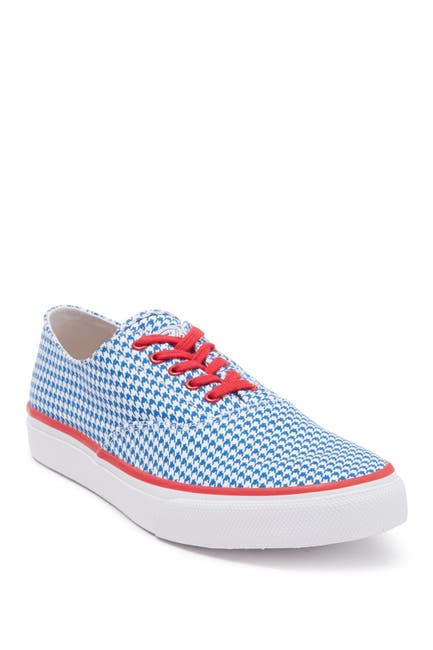 Image of Sperry Cloud CVO Houndstooth Deck Sneaker