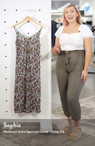 Meeka Floral Print Midi Dress, sales video thumbnail