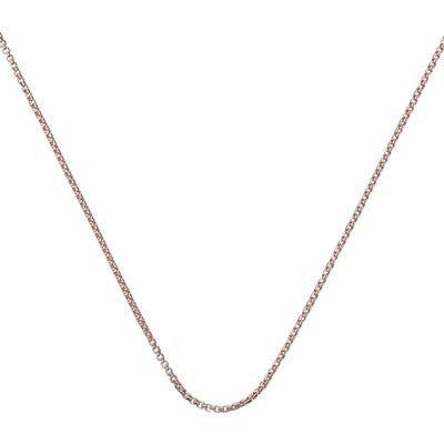 Monica Vinader 18-Inch Box Chain