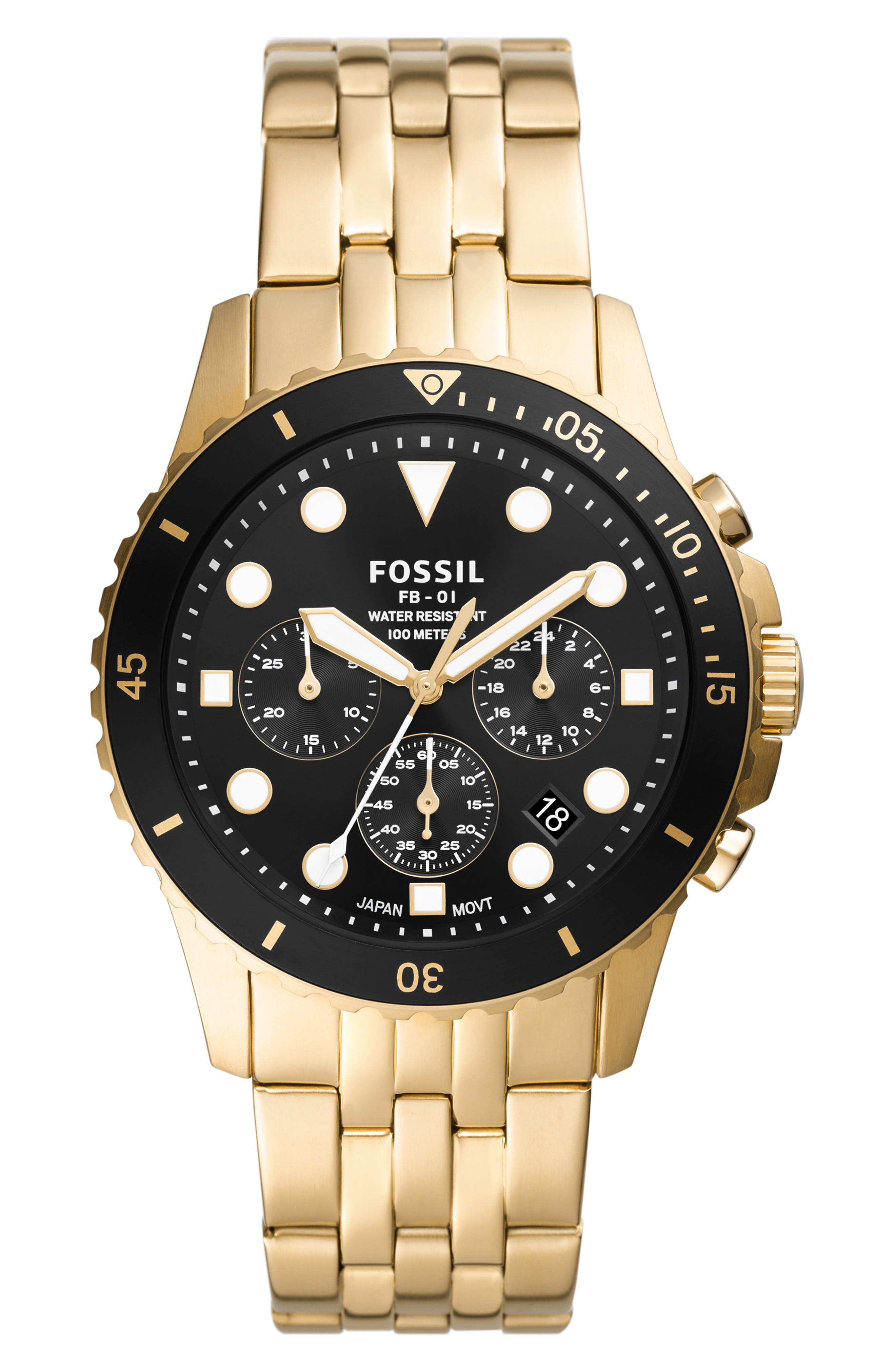 Fb-01 Chronograph Bracelet Watch