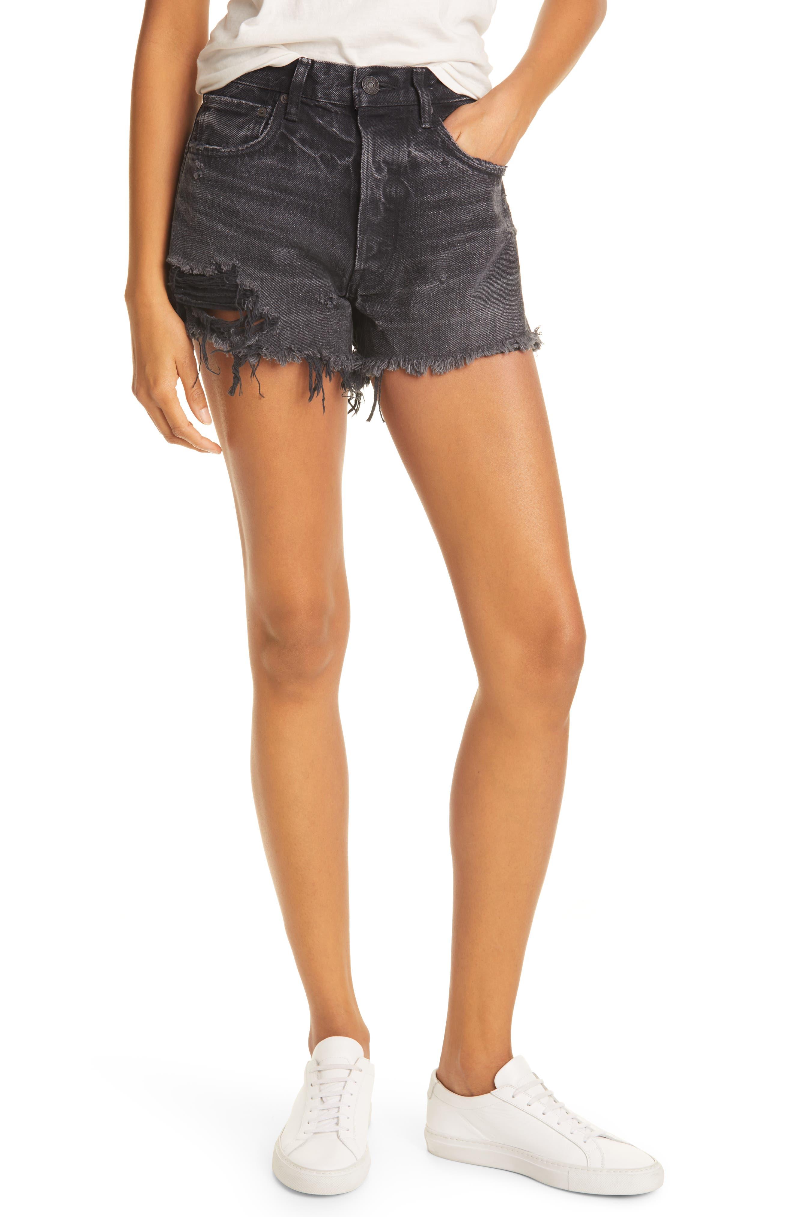 Durango Distressed Denim Shorts