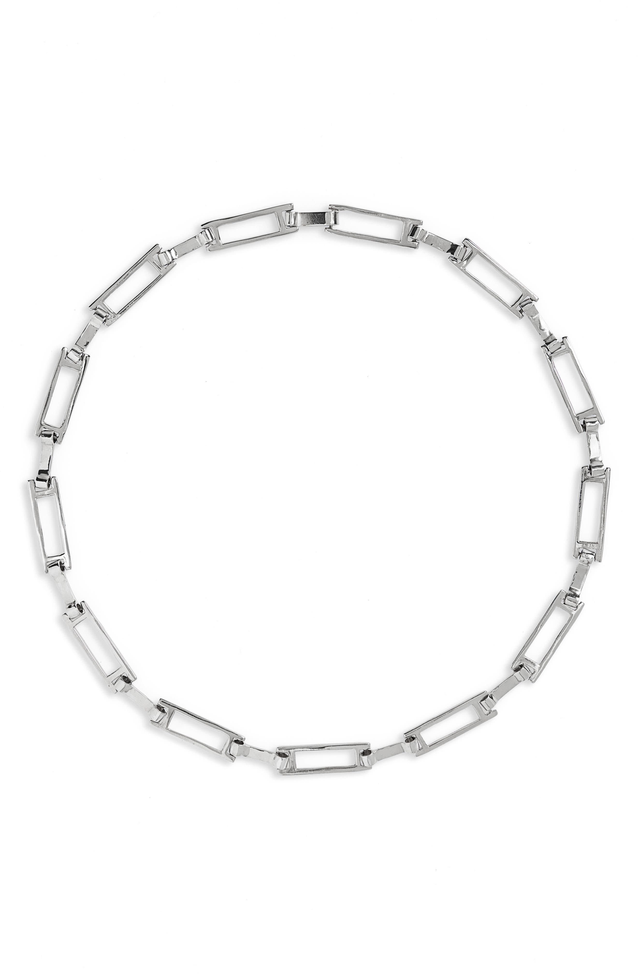 Grid Collar Necklace