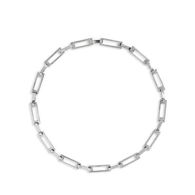 Faris Grid Collar Necklace